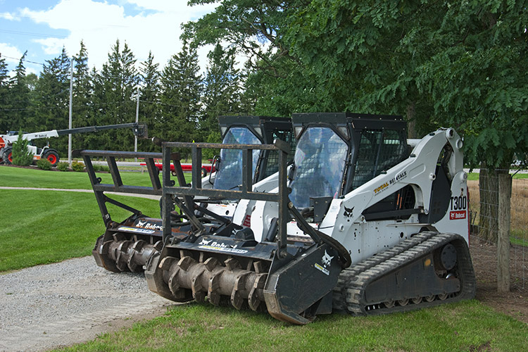 Land Clearing Equipment Rentals Ontario Canada Total