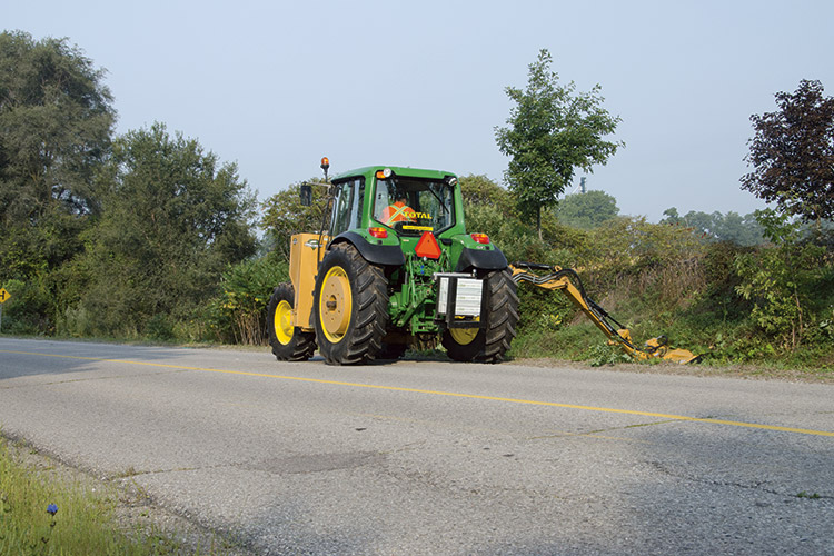 Roadside Mowing Equipment Rentals Total Rentals