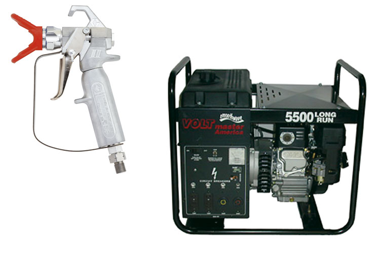 Generator and Paint Sprayer Rentals