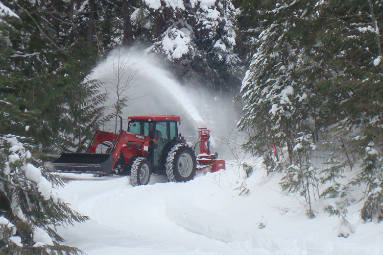 Industrial Snow Blower